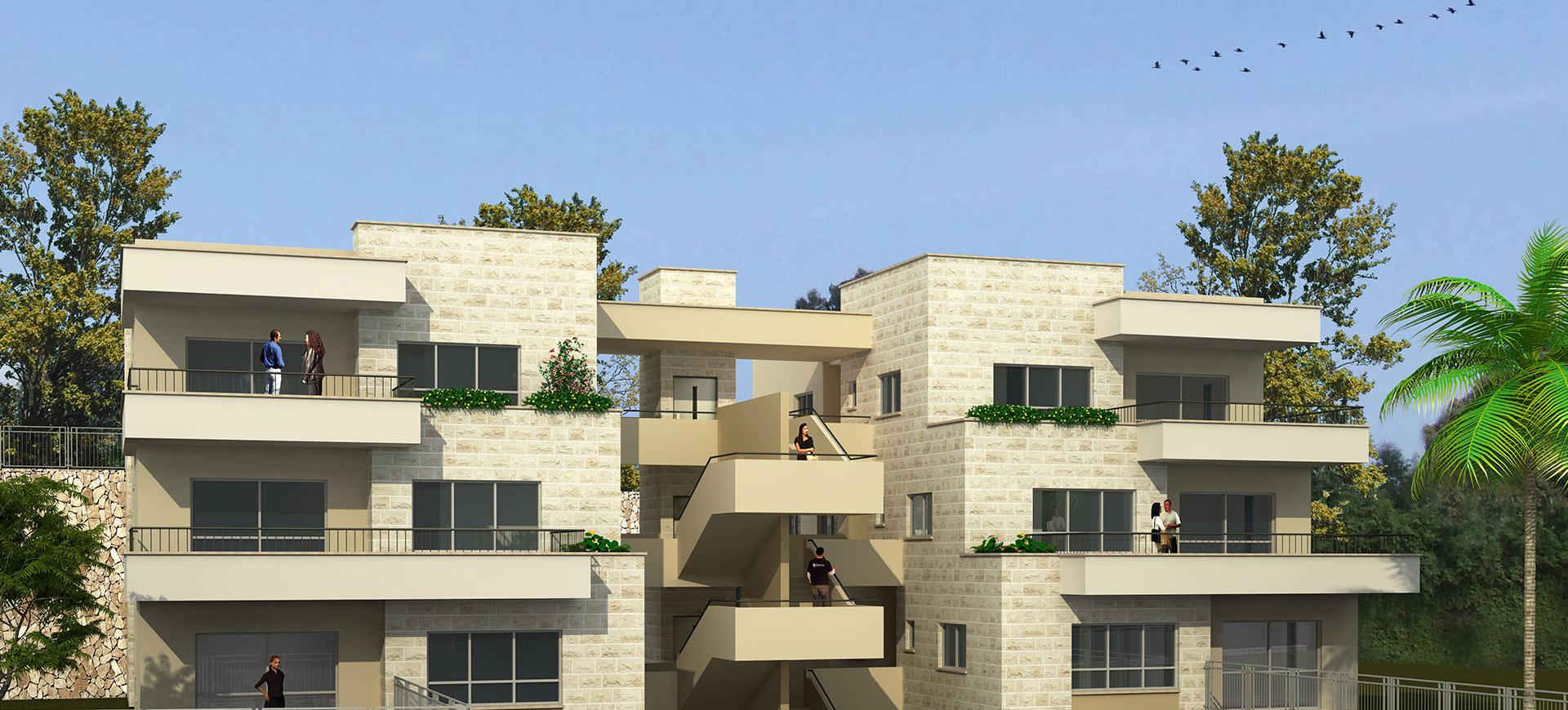 אשגב - esgav -הדמיה בניינים